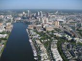 Aerial Of Tampa,fl3 poster