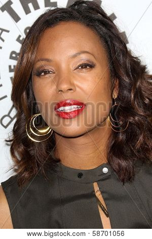 Aisha Tyler at the Paley Center for Media 2013 Benefit Gala, 20th Century Fox Studios, Los Angeles, CA 10-16-13