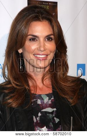 Cindy Crawford at the