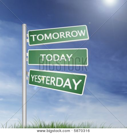 Tomorrow And Yesterday