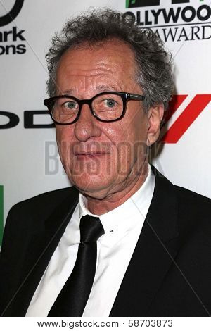 Geoffrey Rush at the 17th Annual Hollywood Film Awards Backstage, Beverly Hilton Hotel, Beverly Hills, CA 10-21-13