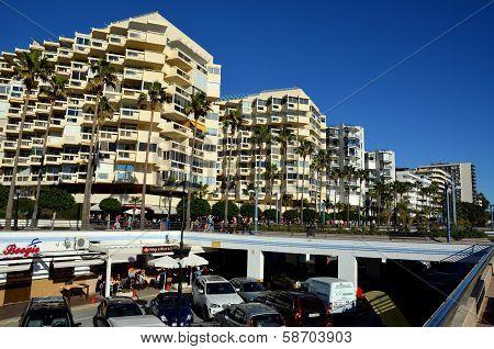 Marbella beach promenade