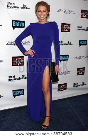 Stassi Schroeder at the Real Housewives of Beverly Hills Season 4 Party and Vanderpump Rules Season 2 Party, Blvd. 3, Hollywood, CA 10-23-13