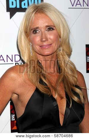 Kim Richards at the Real Housewives of Beverly Hills Season 4 Party and Vanderpump Rules Season 2 Party, Blvd. 3, Hollywood, CA 10-23-13