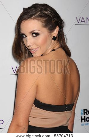 Kristen Doute at the Real Housewives of Beverly Hills Season 4 Party and Vanderpump Rules Season 2 Party, Blvd. 3, Hollywood, CA 10-23-13