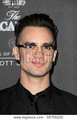 Brendon Urie at the Macallan Masters of Photography Featuring Elliott Erwitt, Leica Gallery, Los Angeles, CA 10-24-13