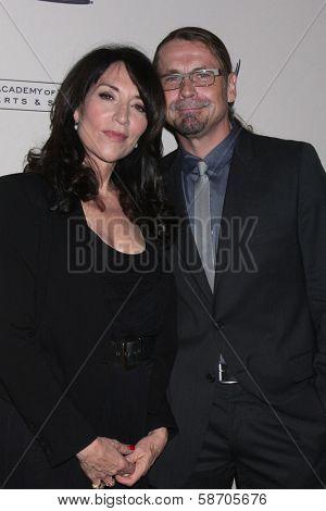Katey Sagal and Kurt Sutter at An Evening with