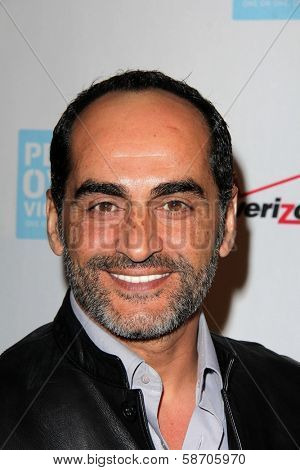 Navid Negahban at the Peace Over Violence 42nd Annual Humanitarian Awards, Beverly Hills Hotel, Beverly Hills, CA 10-25-13