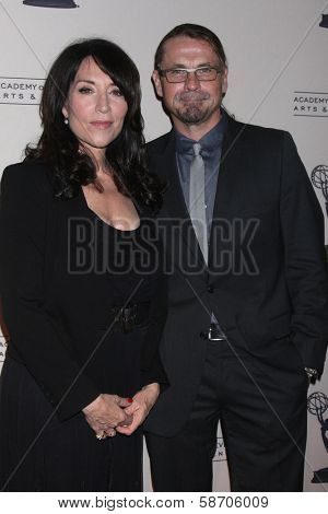 Katey Sagal and Kurt Sutter at An Evening with