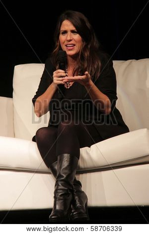 Soleil Moon Frye appearing at the Los Angeles Ultimate Women's Expo, Los Angeles Convention Center, Los Angeles, CA 10-27-13