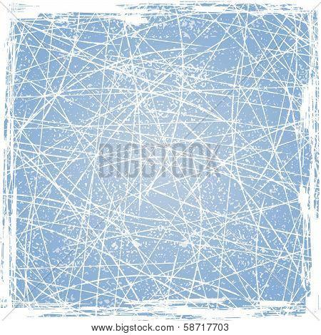 Ice texture background. Vector