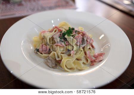 Plate Of Fettuccini