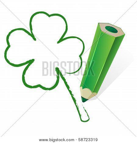 Paint clover