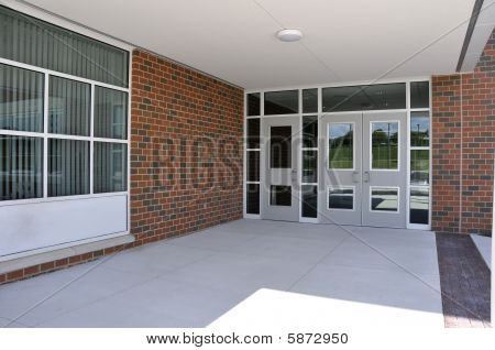 School Entry Doors