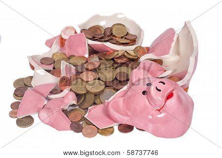 Broken Piggybank