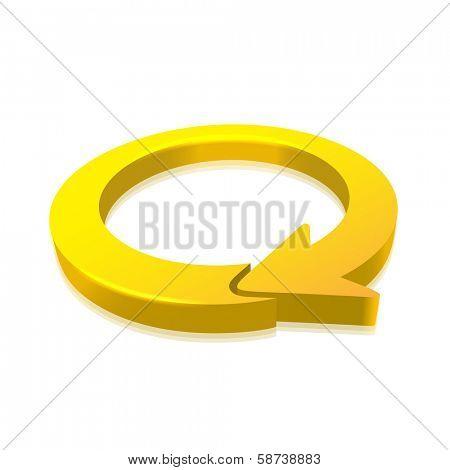 Circular Arrow 3D