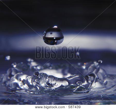 Wasser Tropfen Wirkung