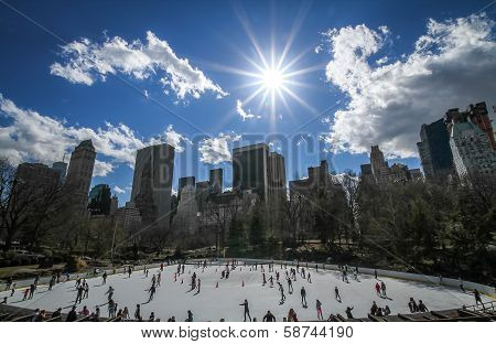 Wollman Ice Rink, Central Park, New York