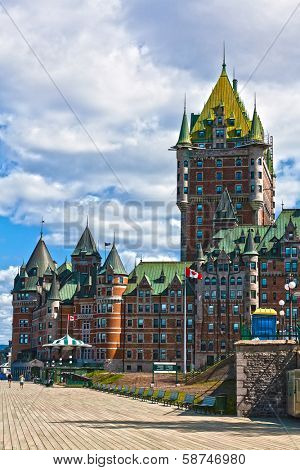hotel Chateau Frontenac quebec city canada
