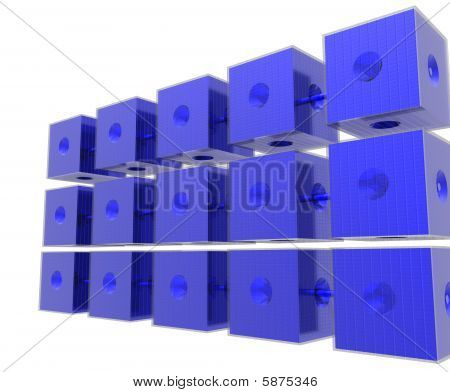 Blue Data Cubes