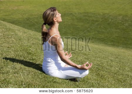 Yoga At The Nature