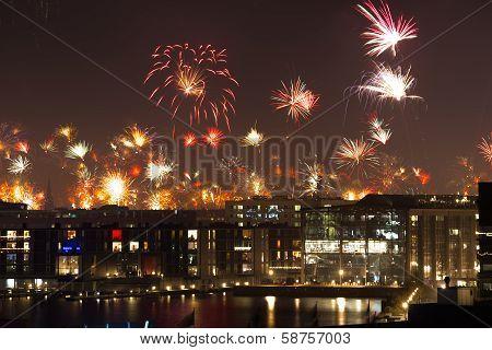 Firework in Copenhagen