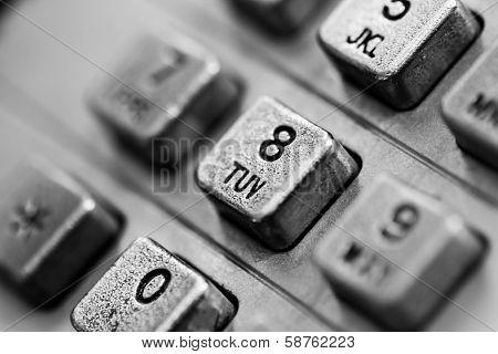 Street Telephone Steel Keyboard Macro