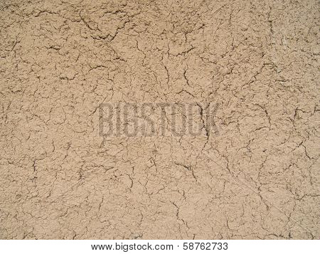 cracked clay ground background