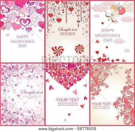Valentine's banners