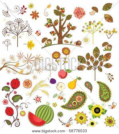 Autumnal set