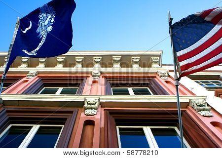 Charleston, South Carolina - Buildings, Flags