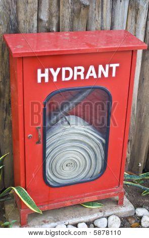Feuer Hydrant box