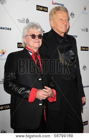LOS ANGELES - JAN 11:  Air Supply at the  2014 G'Day USA Los Angeles Black Tie Gala at JW Marriott Hotel at L.A. LIVE on January 11, 2014 in Los Angeles, CA