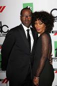 Courtney B. Vance and Angela Bassett at the 17th Annual Hollywood Film Awards Arrivals, Beverly Hilt