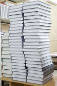 Tall Stacks Of Thick Books