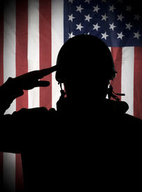 picture of army soldier  - American  - JPG