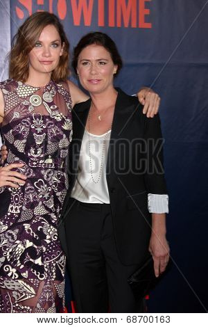 LOS ANGELES - JUL 17:  Ruth Wilson, Maura Tierney at the CBS TCA July 2014 Party at the Pacific Design Center on July 17, 2014 in West Hollywood, CA