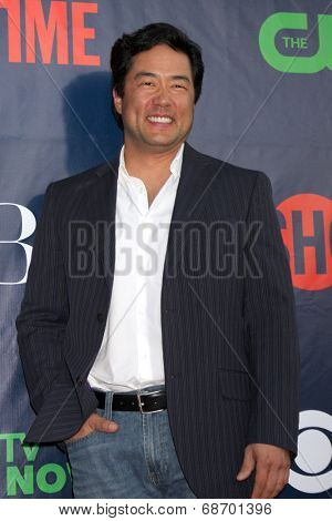 LOS ANGELES - JUL 17:  Tim Kang at the CBS TCA July 2014 Party at the Pacific Design Center on July 17, 2014 in West Hollywood, CA