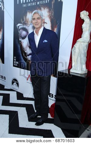 LOS ANGELES - JUL 16:  Lenny Von Dohlen at the 'Twin Peaks - The Entire Mystery' Blu-Ray/DVD Release Party And Screening at the Vista Theater on July 16, 2014 in Los Angeles, CA