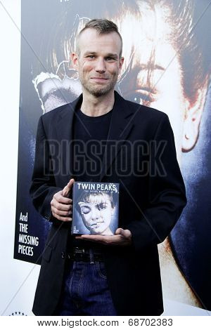 LOS ANGELES - JUL 16:  James Marshall at the 'Twin Peaks - The Entire Mystery' Blu-Ray/DVD Release Party And Screening at the Vista Theater on July 16, 2014 in Los Angeles, CA