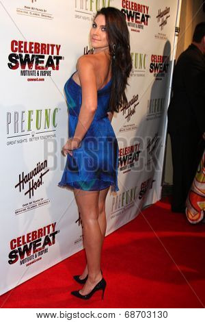 LOS ANGELES - JUL 16:  Nadia Bjorlin at the ESPYs AfterShow Dinner Party at the Palm Resturant on July 16, 2014 in Los Angeles, CA