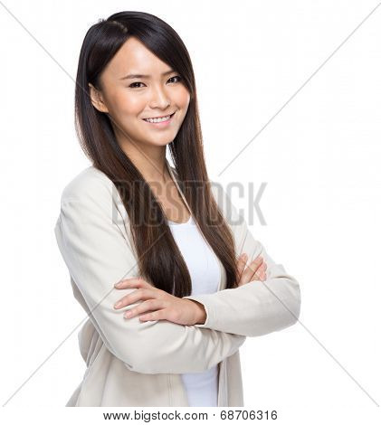 Young asia woman