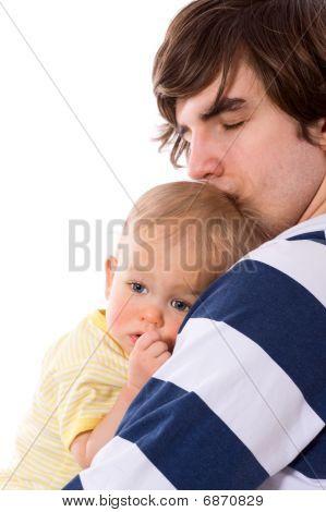 Pai exploração infantil