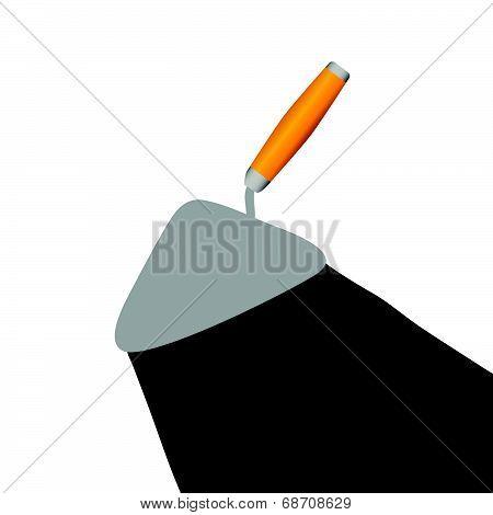 Trowel Vector Illustration