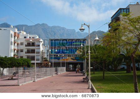 Promenade Los Llanos, City At La Palma
