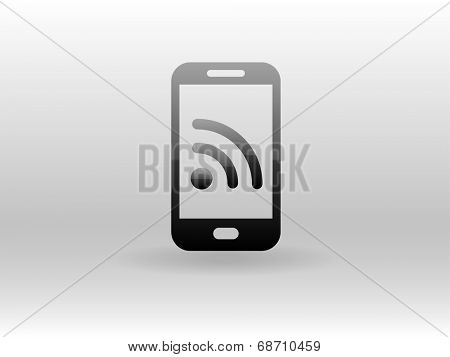 rss phone icon