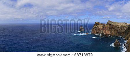 Madeira Sea Landscape