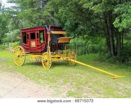 Restored Stagecoach