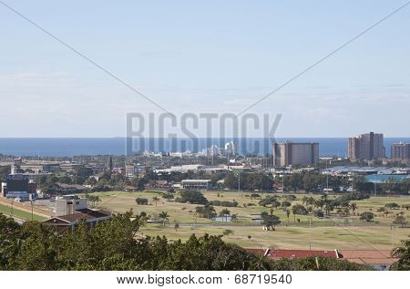 View Of Greyville Racecourse And Royal Durban Golf Club
