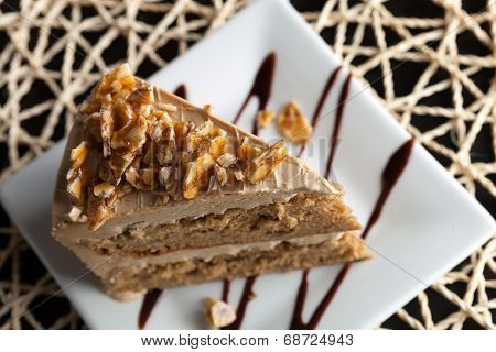 Almond Toffee Cake